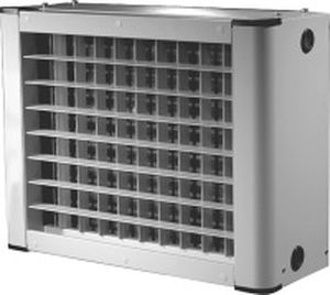 electric air heater unit / wall-mounted / ceiling-mount / industrial