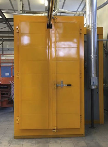 aging oven / hardening / tunnel / for aluminum