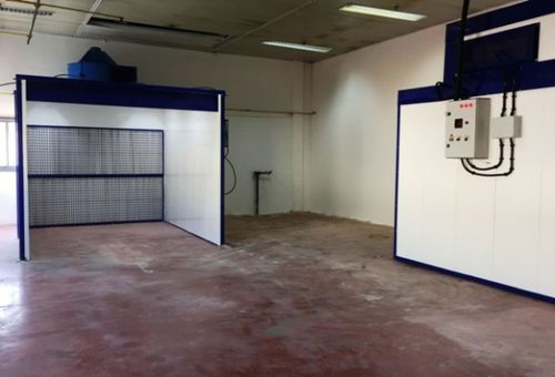 wet paint spray booth