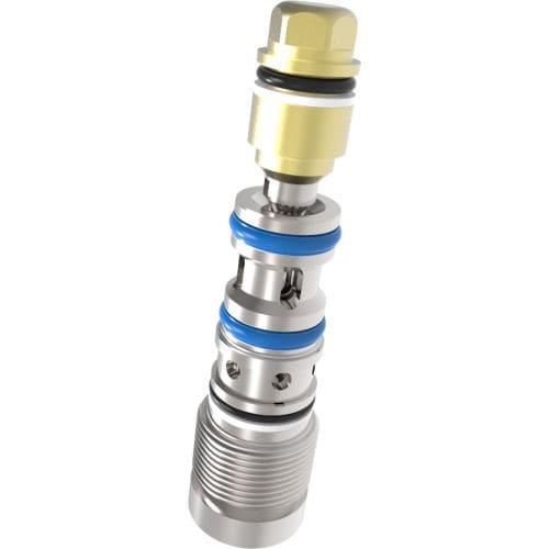 cartridge valve / hydraulic / pilot / 3/2-way