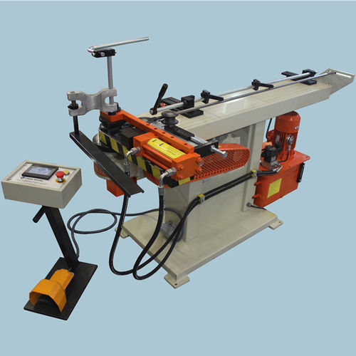 electric bending machine / manual / for tubes / NC