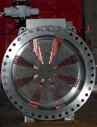round-flange rotary valve