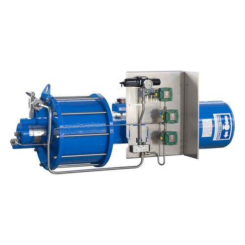 linear actuator / pneumatic / hydraulic / single-acting