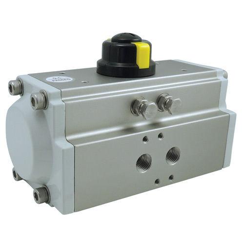 pneumatic valve actuator / 90° / rack-and-pinion / spring-return
