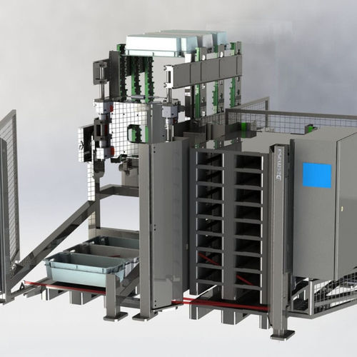robotic palletizer and depalletizer