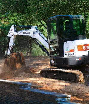 excavator bucket / tilting
