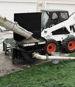 loader concrete pump / for construction