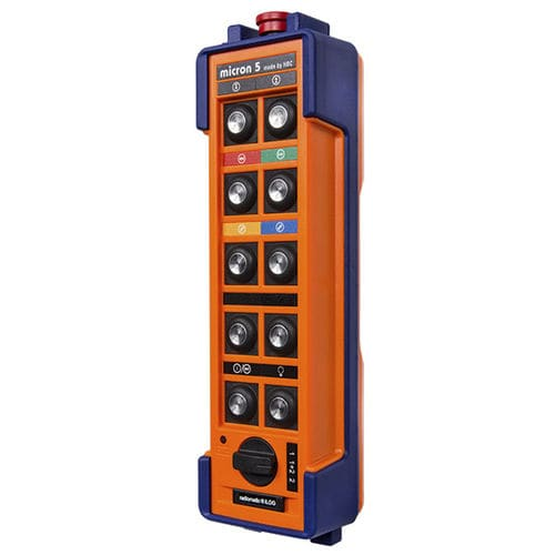 radio remote control / 10-button / IP65 / for lifting equipment