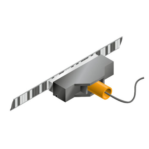 absolute linear encoder / magnetic / RS-485 / with SSI interface
