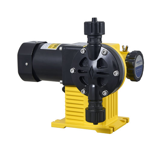chemical pump / diaphragm / for the chemical industry / compact