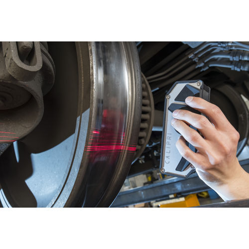 optical profilometer / laser / geometry / for brake discs