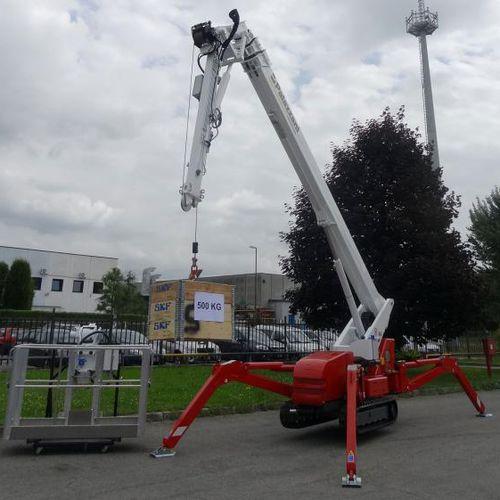 crawler spider crane - Palazzani industrie S.p.A.
