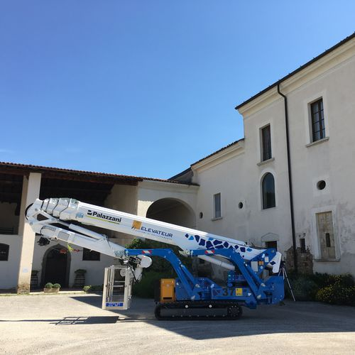crawler spider lift - Palazzani industrie S.p.A.