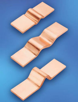 flat electrical contact / copper