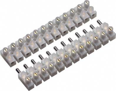 screw connection terminal block / plug-in