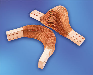 flat-wire braid shunt
