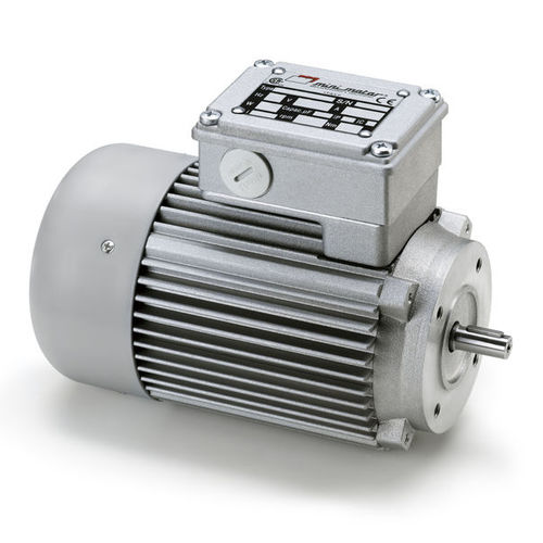three-phase motor / asynchronous / 220 V / with built-in electromagnetic brake