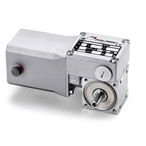 worm gear-motor / DC / orthogonal / 10 W...50 W