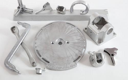 aluminum shell molding / bronze / copper / brass