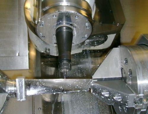 aluminum milling machining / for railway / automotive / for aeronautics