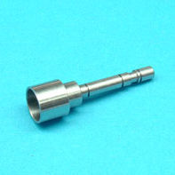 steel turning machining / stainless steel / polyamide / for telecommunications