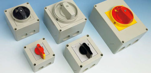 cam switch / multipole / electromechanical / IP67
