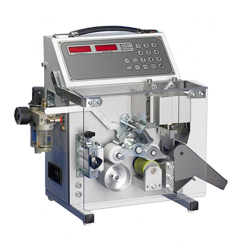 knife cutting machine / for metal / wire / cable