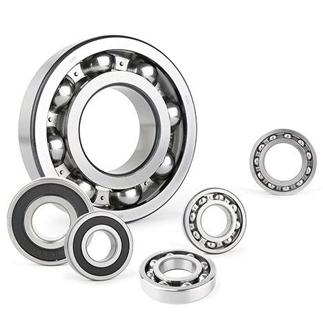 ball bearing / deep groove / single-row / double-row
