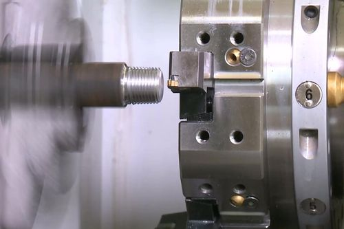 steel boring machining