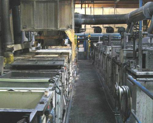 automotive coating spraying