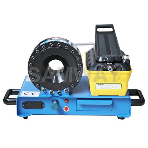 hydraulic hose crimping machine / automatic / pneumatic / compact