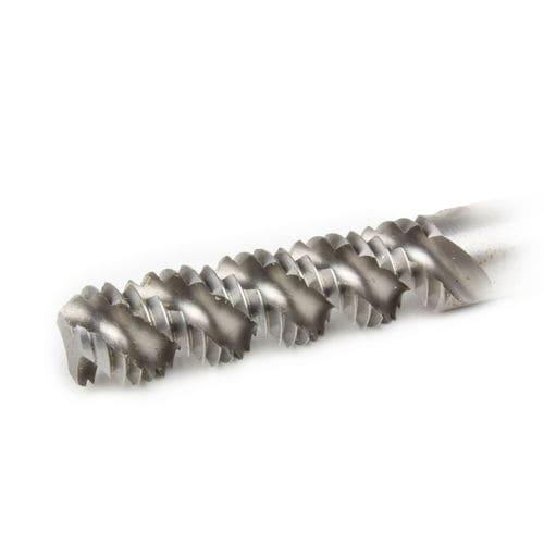blind hole tap / spiral flute / steel / for steel