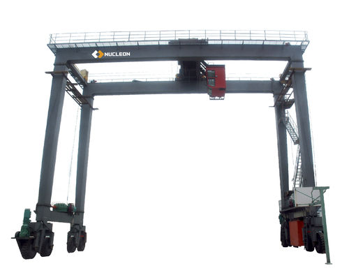 rubber-tired gantry crane
