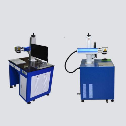 fiber laser marking machine / compact / high-speed / air-cooled