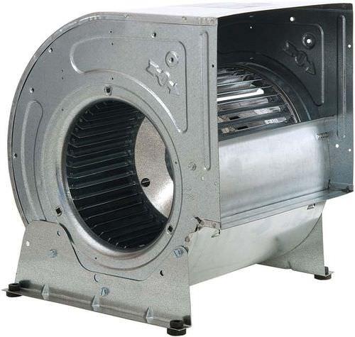centrifugal fan / ventilation / high-pressure / direct-drive