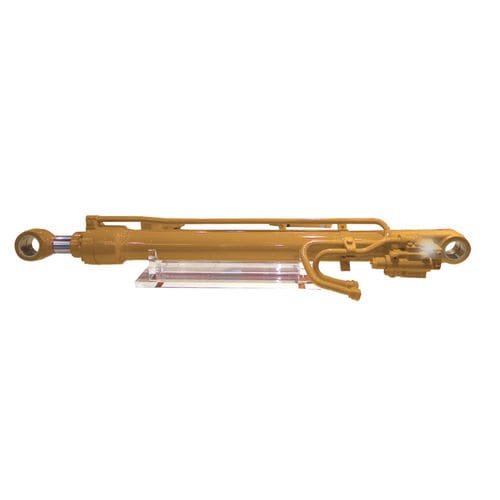hydraulic cylinder / double-acting / for construction equipment