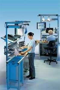 assembly workstation / ergonomic