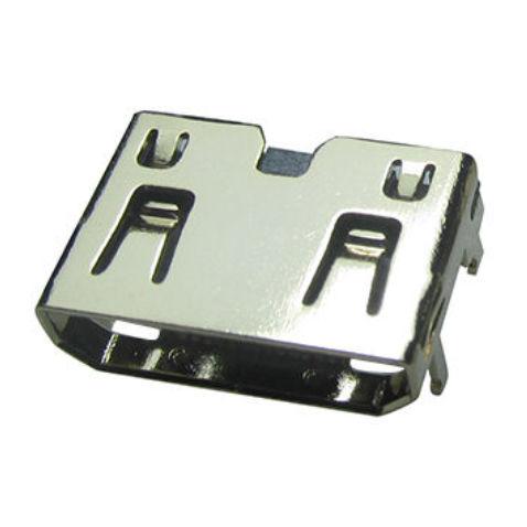 HDMI connector / brass / solder
