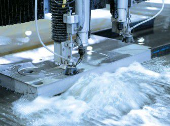 3D-waterjet cutting / non-ferrous metals / small series / large series