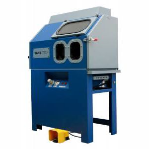 pressure blast cabinet / manual / compact / for the automotive industry