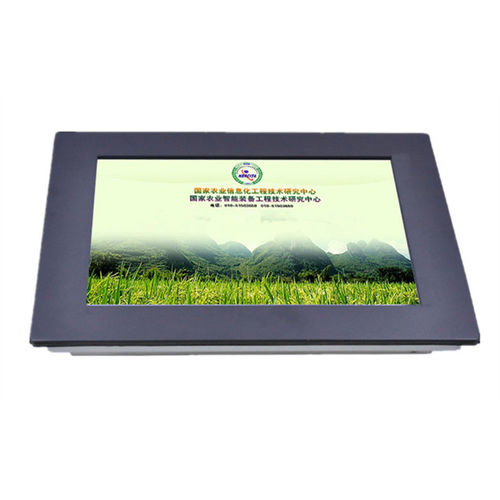LCD panel PC / TFT LCD / resistive touch screen / 10.4