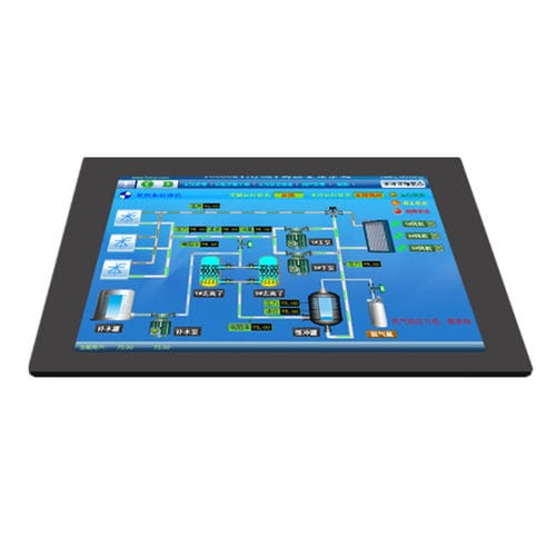 LCD panel PC / TFT LCD / resistive touch screen / 12
