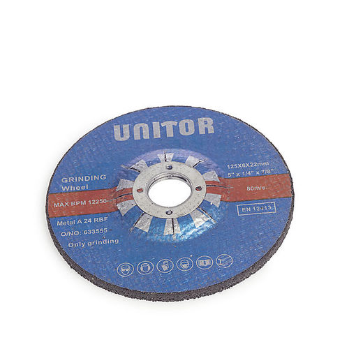cylindrical grinding wheel / finishing / deburring / cutting