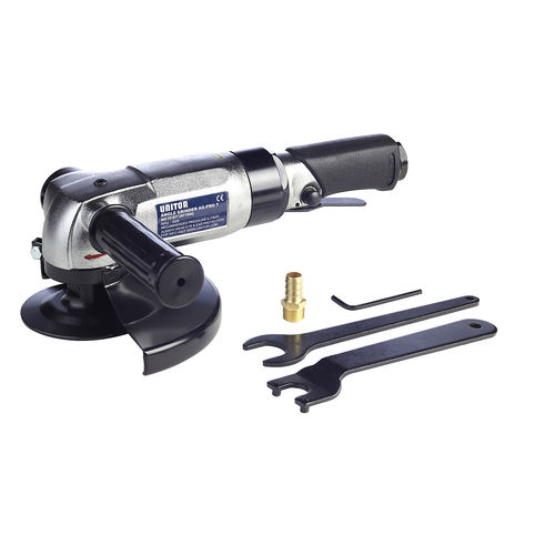 angle portable grinder / air-operated