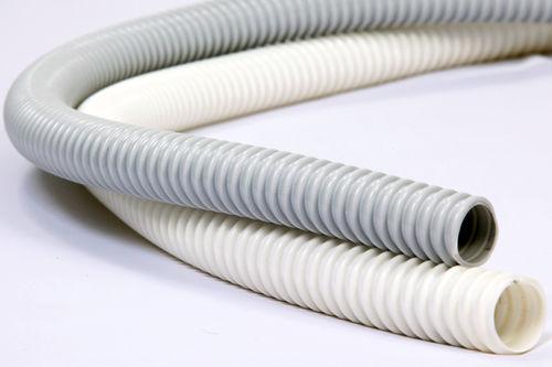 flexible air duct / PVC / spiral / flame-retardant