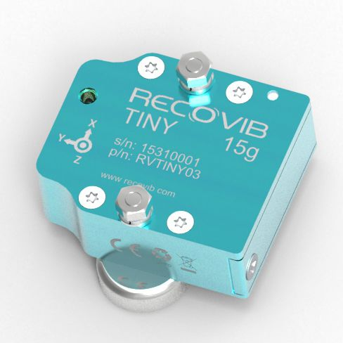 vibration data logger / USB / wireless / without display