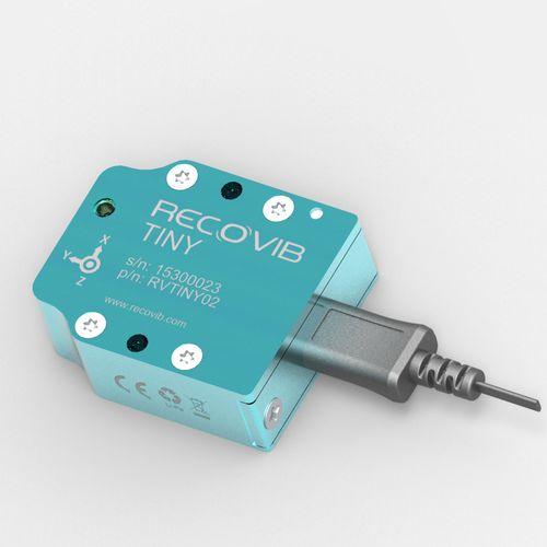 acceleration data-logger / shock / vibration / wireless