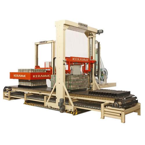 strapping machine with press / automatic / package / for finished goods