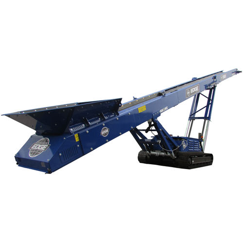 belt conveyor / for the mining industry / for the recycling industry / construction
