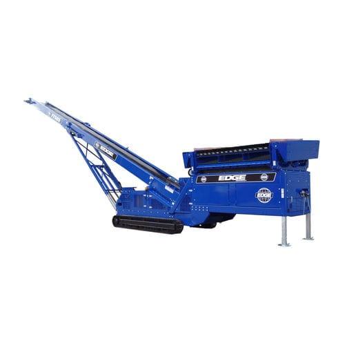 belt conveyor / vibrating / construction / food